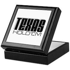 """""""Texas Hold'em"""" Keepsake Box"""