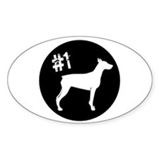#1 Doberman Decal