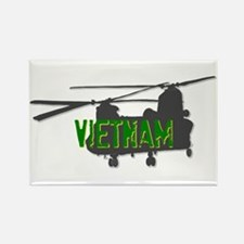 Vietnam Chinook Rectangle Magnet