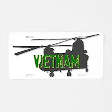 Vietnam Chinook Aluminum License Plate