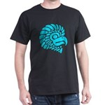 North American Indian Eagle Design Dark T-Shirt