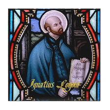 St Ignatius Loyola Tile Coaster