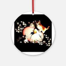 Kittens & Chic - Ornament (Round)
