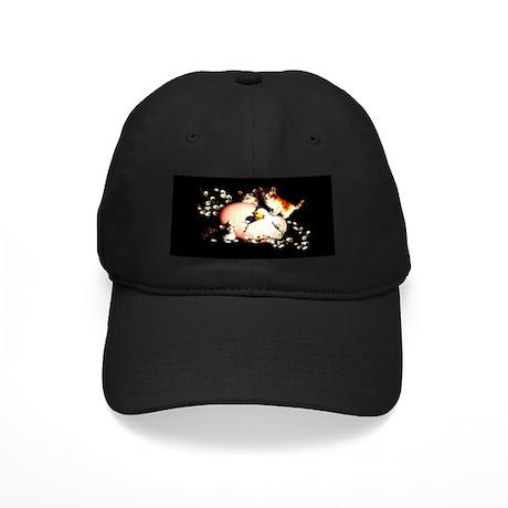 Kittens & Chic - Black Cap