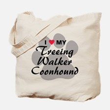 Treeing Walker Coonhound Tote Bag