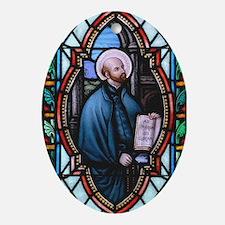 St Ignatius Loyola Ornament (Oval)