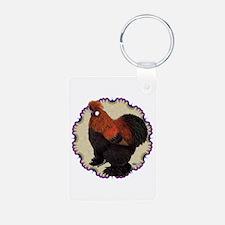 Silkie Circle Keychains