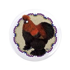 """Silkie Circle 3.5"""" Button (100 pack)"""
