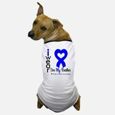 Colon Cancer Dog T-Shirt