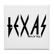 """Texas Hold'em"" Tile Coaster"
