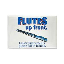 Flutes Up Front Rectangle Magnet (10 pack)