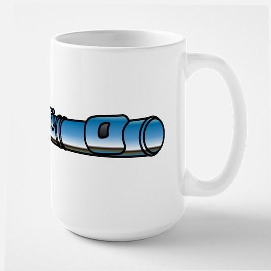 Flutes Up Front Large Mug