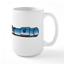Flutes Up Front Mug