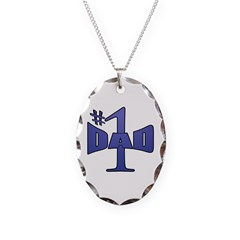 Number one dad Necklace