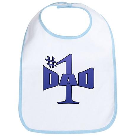 Number one dad Bib