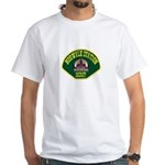 Norwalk Sheriff White T-Shirt