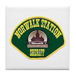 Norwalk Sheriff Tile Coaster