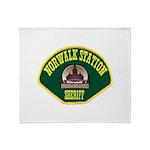 Norwalk Sheriff Throw Blanket