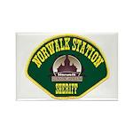 Norwalk Sheriff Rectangle Magnet (100 pack)