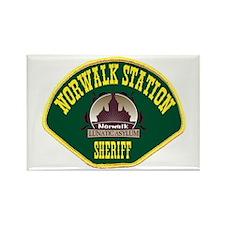 Norwalk Sheriff Rectangle Magnet