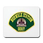 Norwalk Sheriff Mousepad