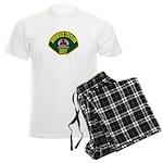 Norwalk Sheriff Men's Light Pajamas