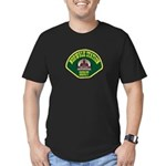 Norwalk Sheriff Men's Fitted T-Shirt (dark)