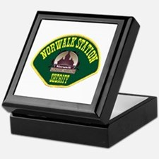 Norwalk Sheriff Keepsake Box