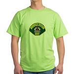 Norwalk Sheriff Green T-Shirt