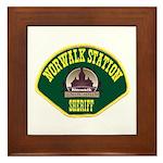 Norwalk Sheriff Framed Tile