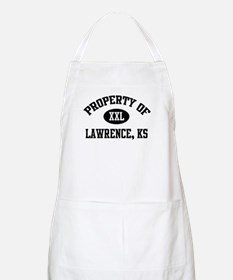 Property of Lawrence BBQ Apron