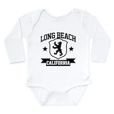 Long Beach Heraldry Long Sleeve Infant Bodysuit
