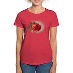 Musical Rose Women's Dark T-Shirt