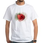 Musical Rose White T-Shirt
