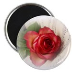 Musical Rose Magnet