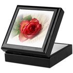 Musical Rose Keepsake Box