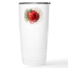 Musical Rose Travel Mug