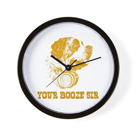 Your Booze Sir Wall Clock