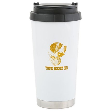 Your Booze Sir Stainless Steel Travel Mug