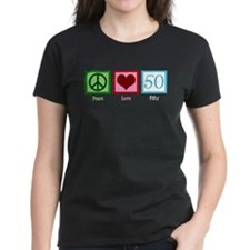 Peace Love 50 Tee