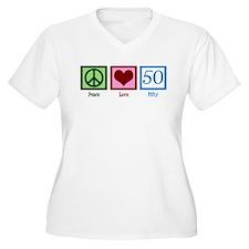 Peace Love 50 T-Shirt