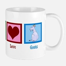 Peace Love Goats Mug