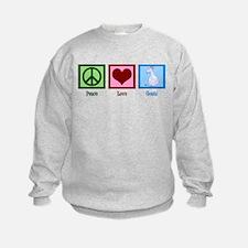 Peace Love Goats Sweatshirt