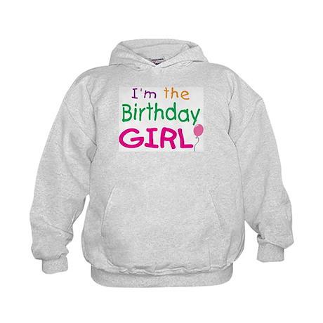 I'm the Birthday Girl Kids Hoodie