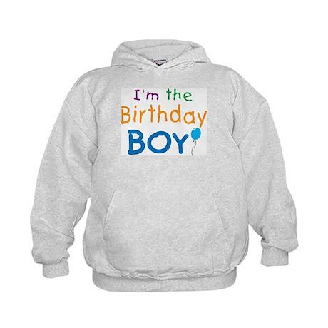 I'm the Birthday Boy Kids Hoodie