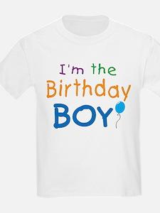 I'm the Birthday Boy Kids T-Shirt