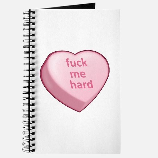 fuck me hard Journal