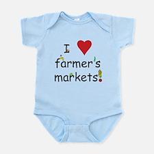 I Love Farmer's Markets Infant Bodysuit
