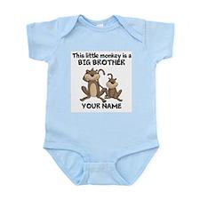 Big brother monkey Infant Bodysuit