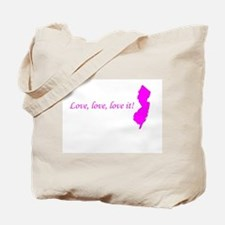 Jersey Babe Tote Bag